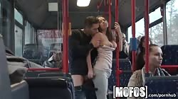 Mofos - Bonnie Shai gets pounded on the bus