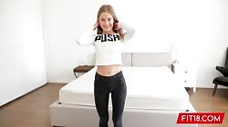 FIT18 - Tiffany Tatum - 95lbs - I Creampie The Fittest Girl Ever - 60fps